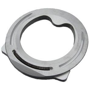 Aluminum Buttress Eggbar Shoe Hind Pattern w/ Insert (Each)