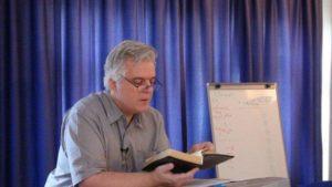 Ken at work teaching hermeneutics to national pastors
