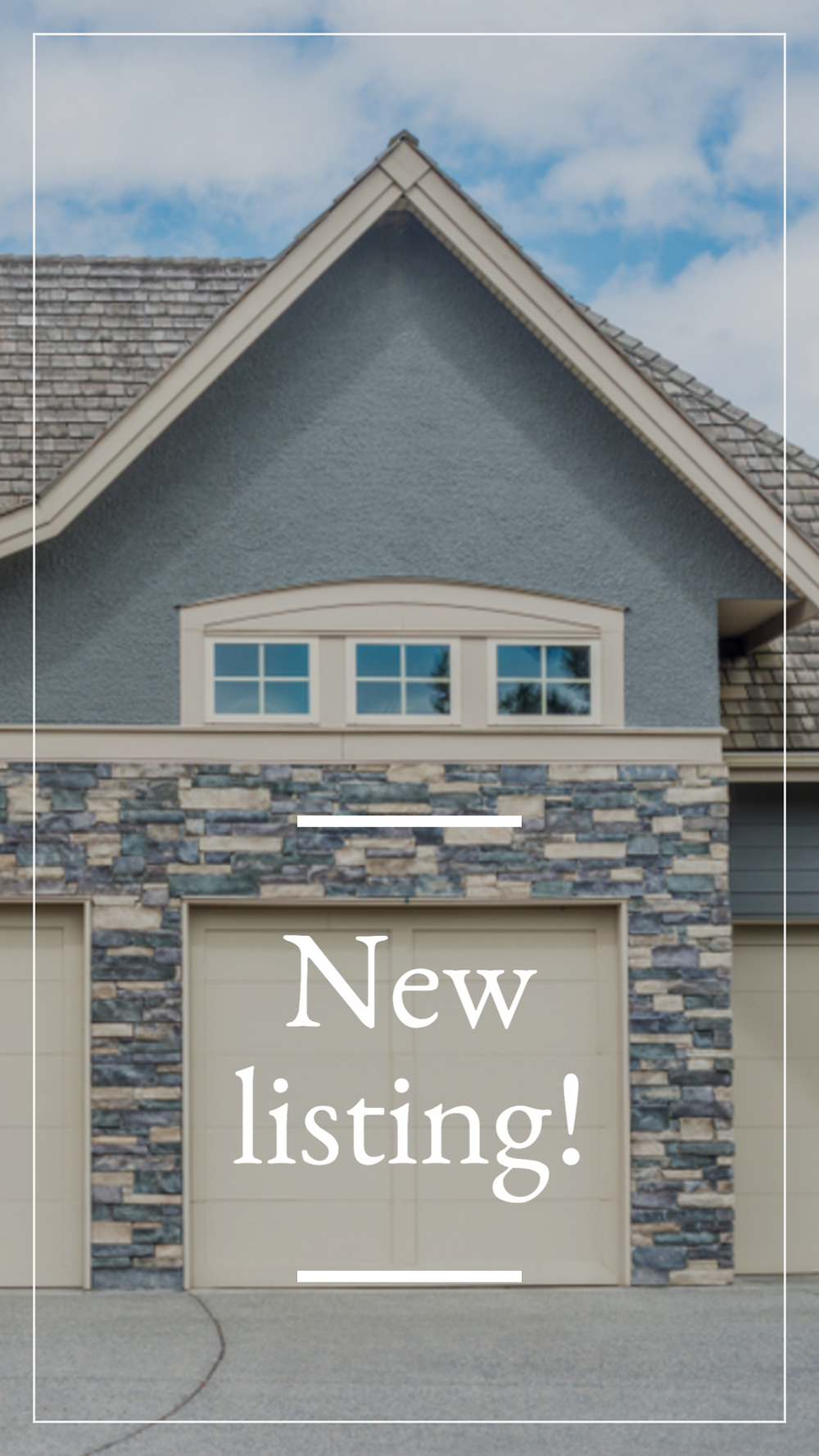 New listing Fall classic story template for Instagram stories and Facebook stories for realtors and real estate agents and brokers