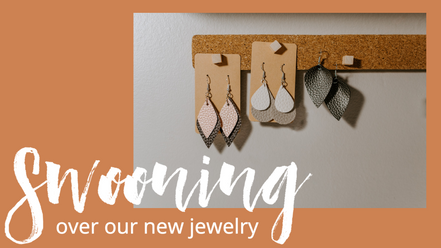 New jewelry and accessories social post template for fall for ecommerce and boutique retail