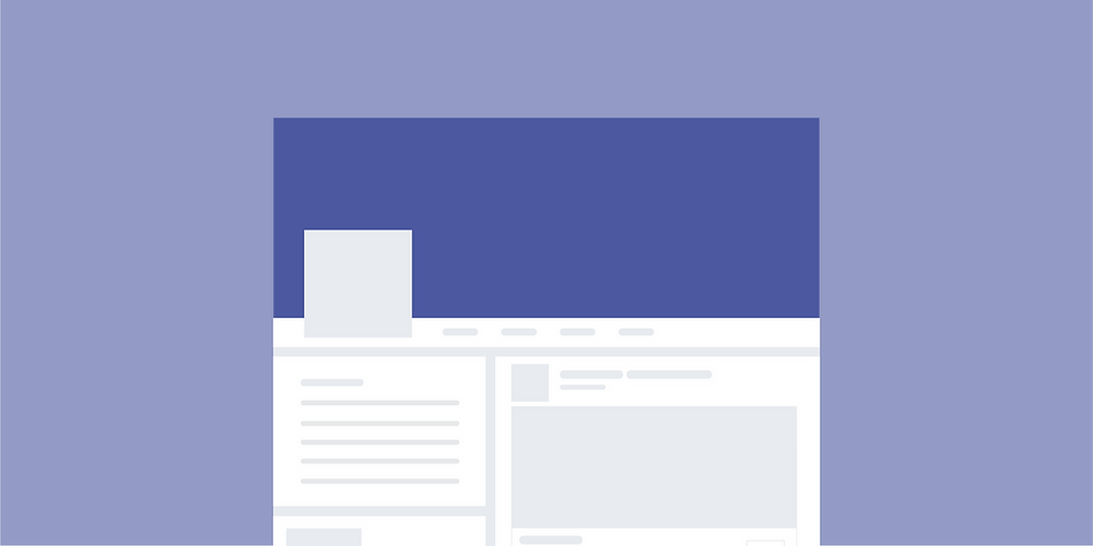 Facebook cover photos should be 820px wide by 312px tall