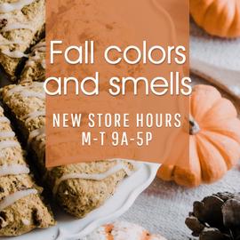 Fall pumpkin treats template for social media