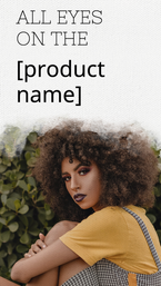 New products social media story template for Instagram and Facebook