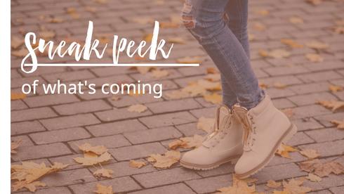 Fall season template for social media