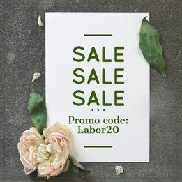 Labor day 2020 sale template for Instagram