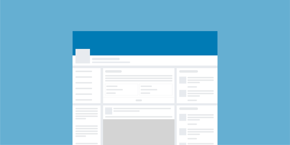 The ideal size for a business page banner on LinkedIn is 1192px wide by 220px tall