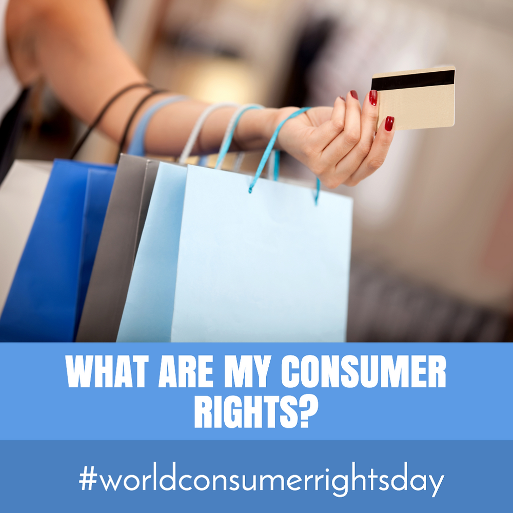 World Consumer Rights Day social media post template