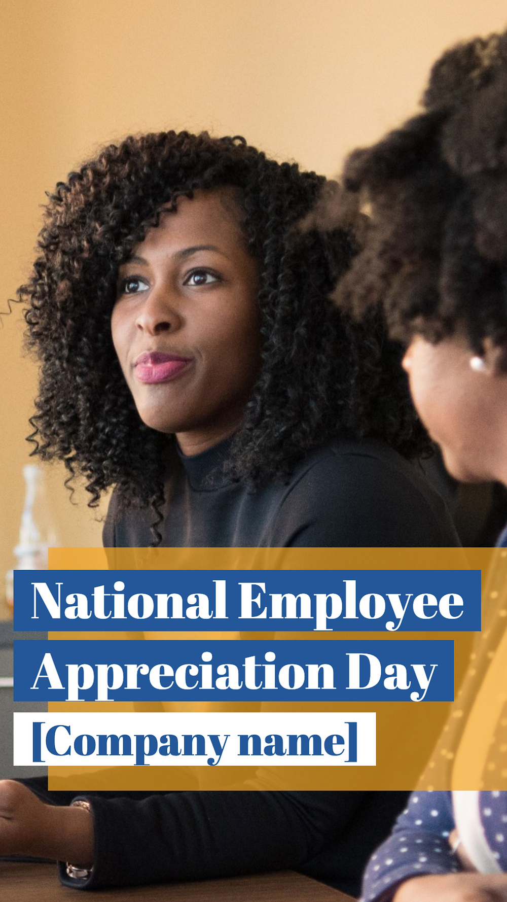 Employee Appreciation Day social media story template for small businesses