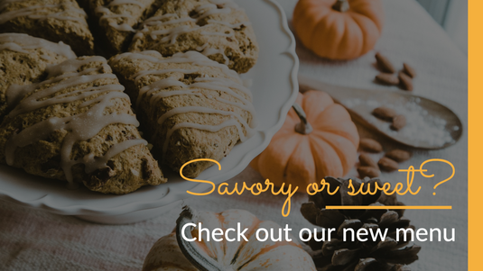 Fall and Autumn social post template for restaurants