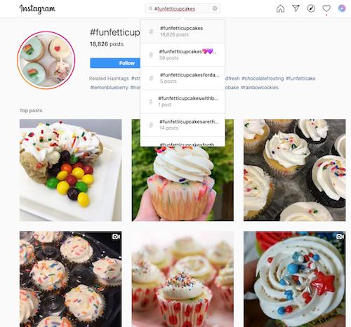 Funfetti cupcake #funfetticupcakes hashtag results on Instagram