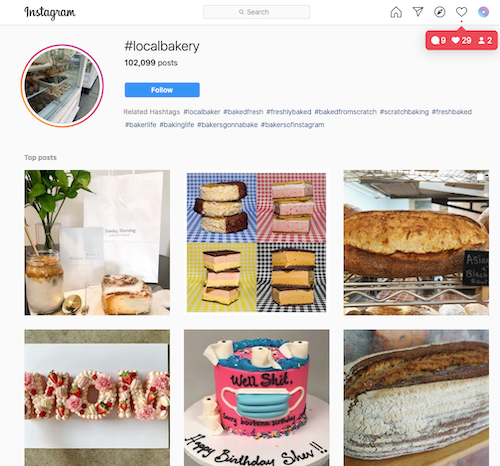 Local bakery #localbakery hashtag results on Instagram