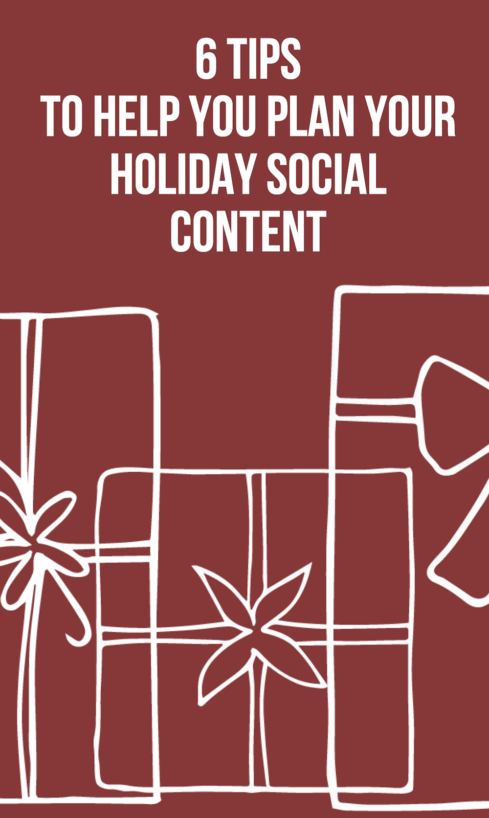 6 tips to help you plan your holiday social media content