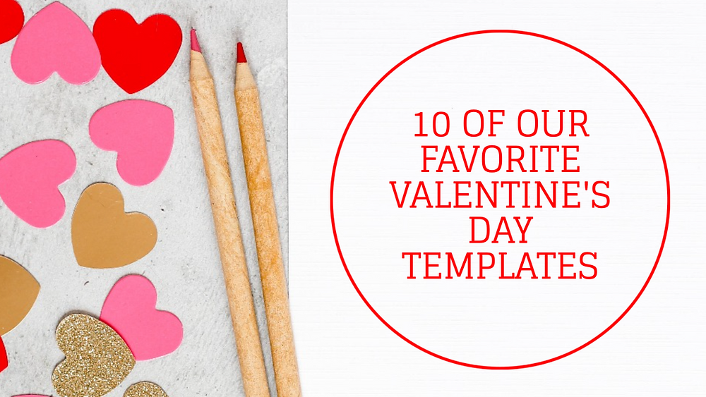 10 of our favorite Valentine's Day social media post templates