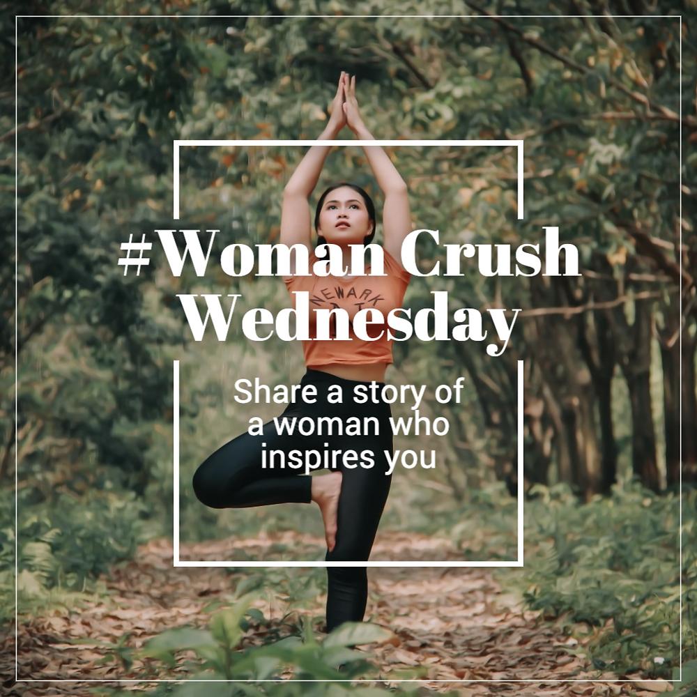 Woman Crush Wednesday WCW social media post template