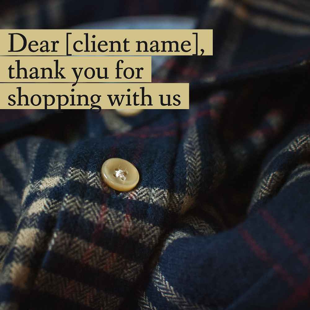 National Flannel Day flannel shirt social media post template for retail and ecommerce businesses