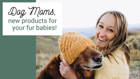 Dog mom social media post template for pet stores and small businesses