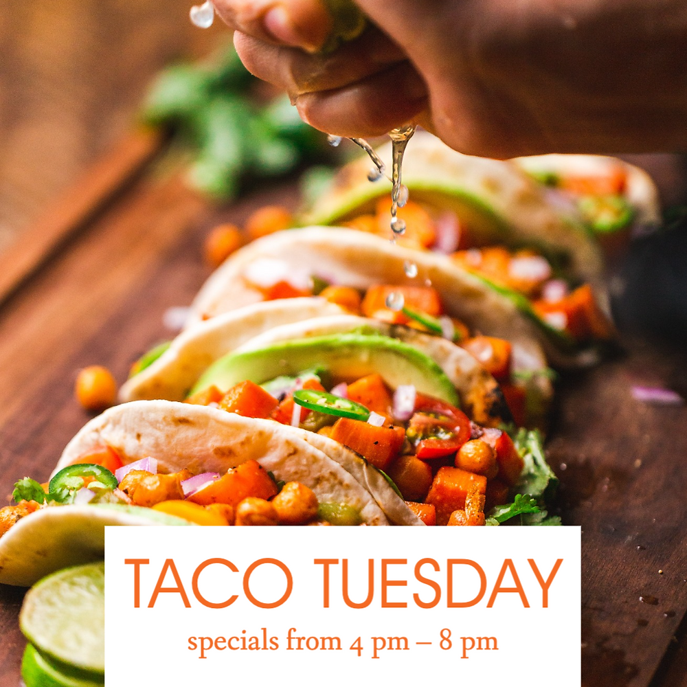 Taco Tuesday social media post template for restaurants and bars