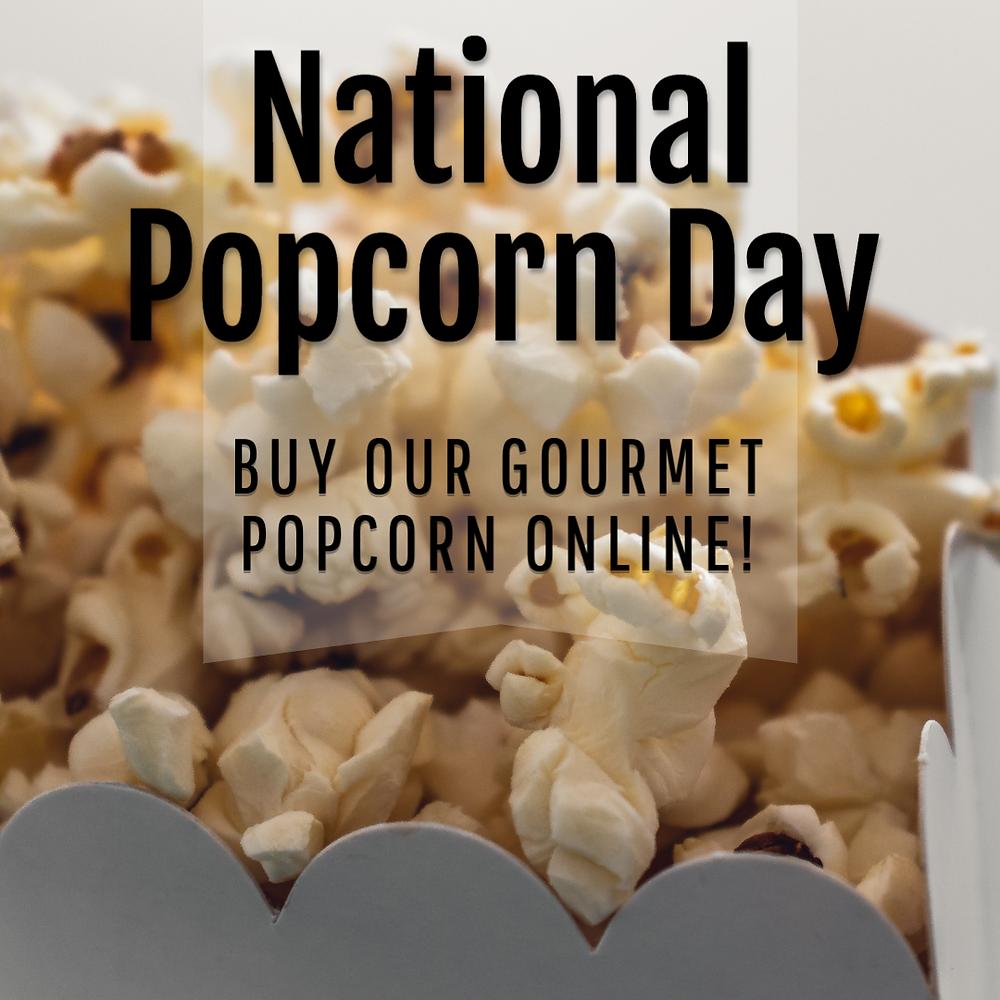 National Popcorn Day social media post template