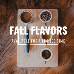 Fall social media post template for coffee shops and restaurants