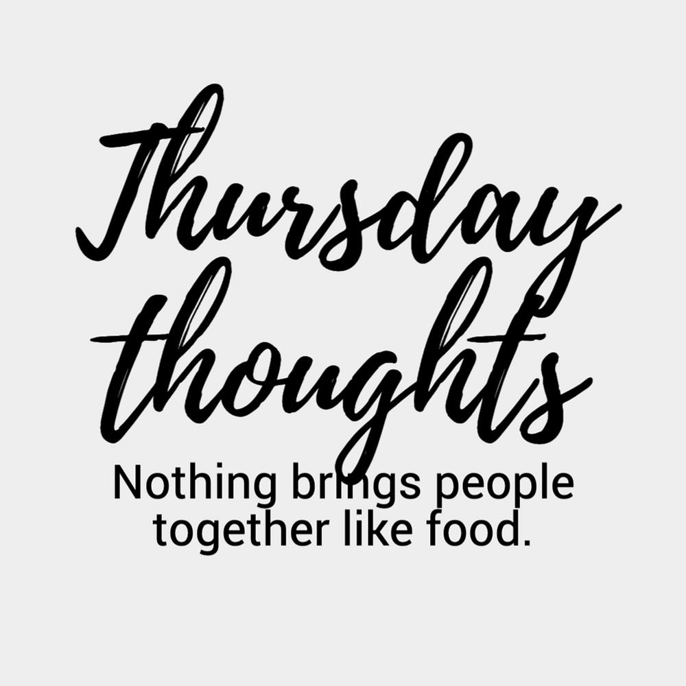 Thursday Thoughts social media post template