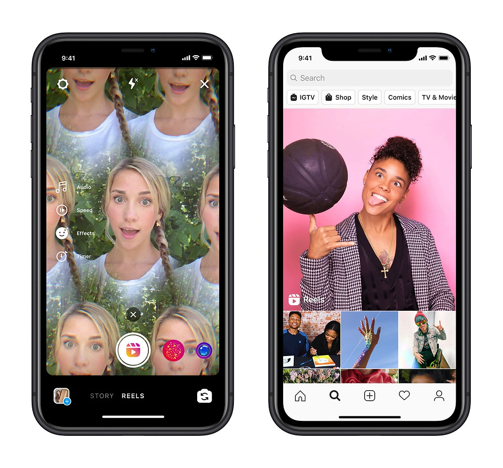 Instagram reels new social media feature how to use reels