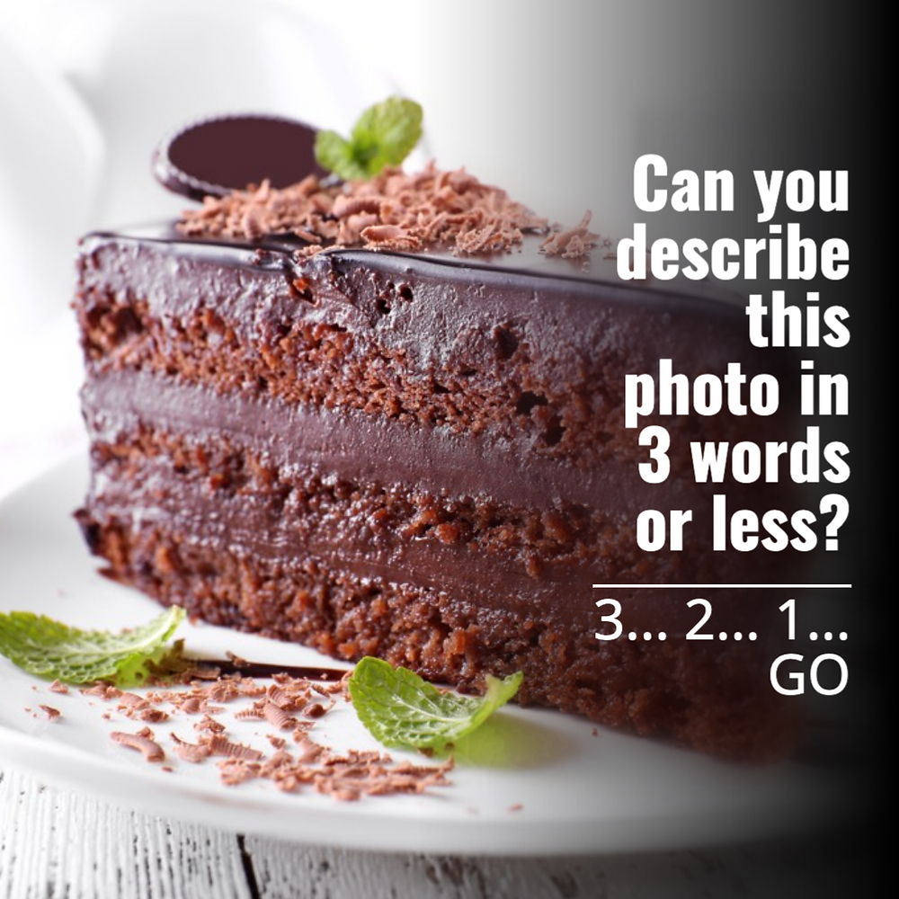 National Chocolate Cake Day social media post template