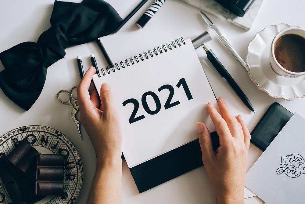 2021 calendar planning