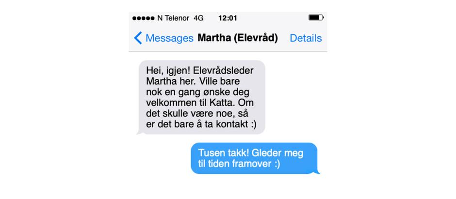 Takk Martha