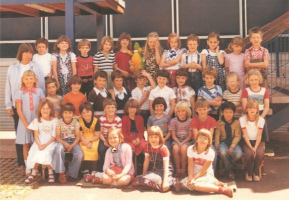 1978/79 1. Klasse Frau Bedall