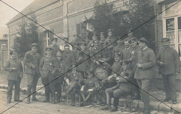 Ostern 1916 in Schleißheim