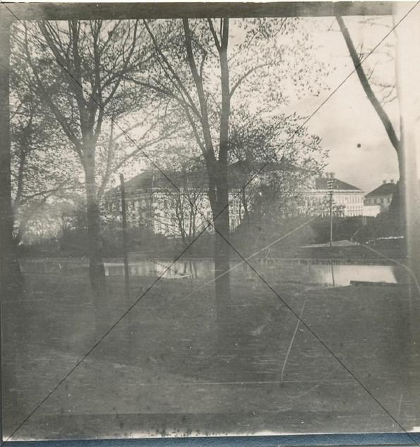 Schloss, gesehen von der Freisingerstras