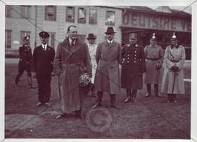 Hermann Göring zu Besuch in Schleißheim