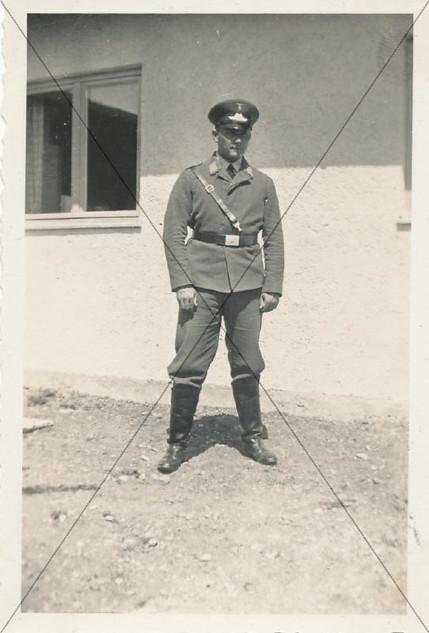 Flugschüler in Schleißheim 1934