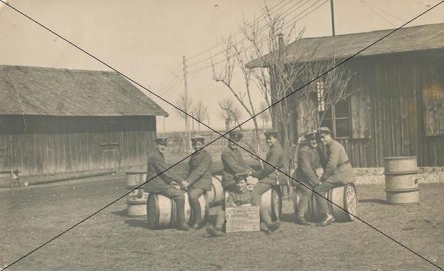 Staffeldienst Ostern 1917