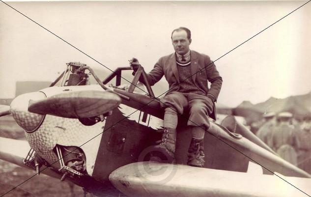 Ernst Udet in Schleißheim 12.-14.09.1925