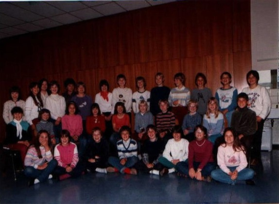 1983 5. Klasse Frau Vogl