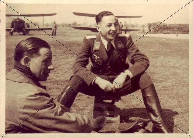 Geschwader Kommodore und Pilot 1938