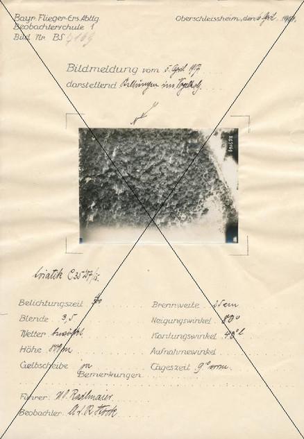 Bildmeldung vom April 1917