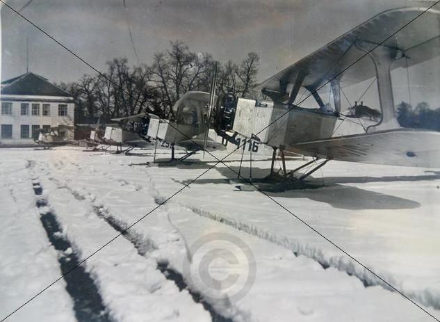 B.F.W. Flamingo mit Sh 11 auf Schneekufe