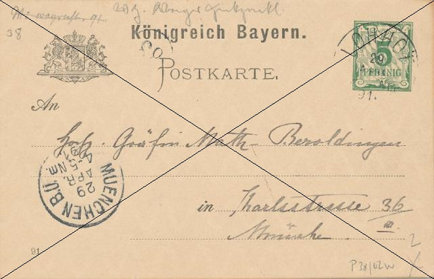 Brief Lohhof 1891.jpg