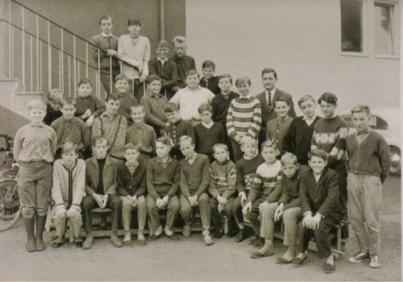 1966 7.+8. Klasse Herr Link