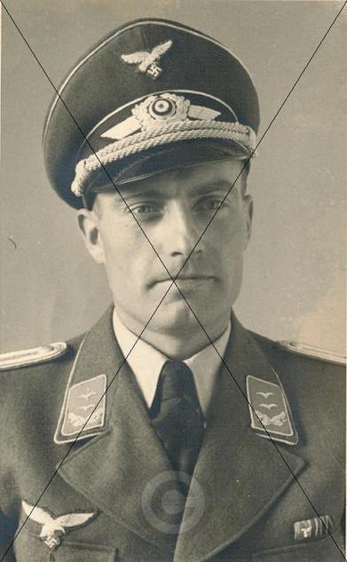 Hans Berghof - Oberleutnant des Fliegerh