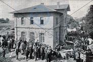 Versetzung des Schleissheimer Bahnhofs 1
