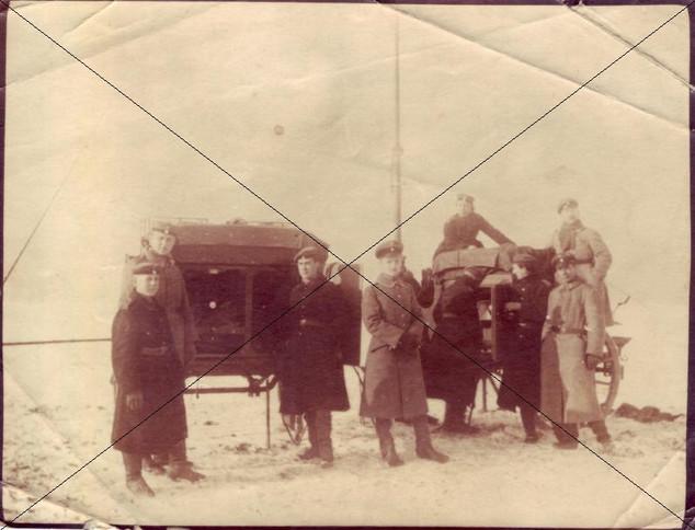 Winter 1917 in Schleißheim