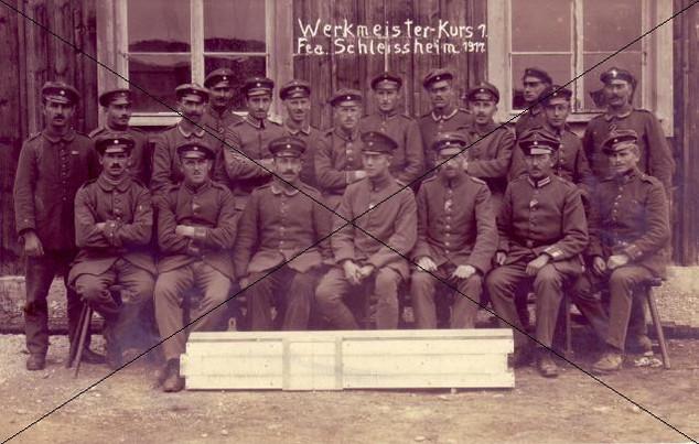 Werkmeisterkurs 1917