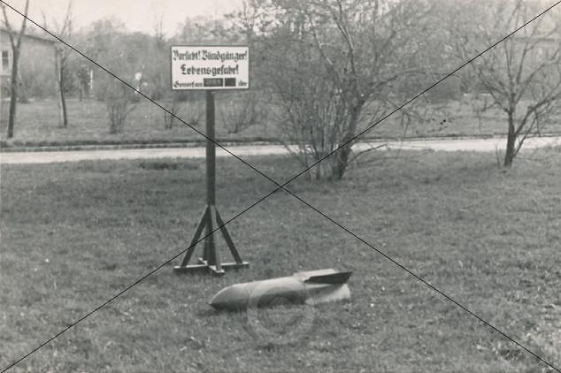 Blindgänger am Fliegerhorst