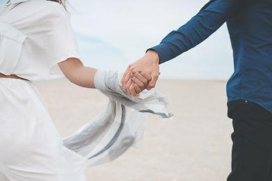 Liebhaber Hände halten