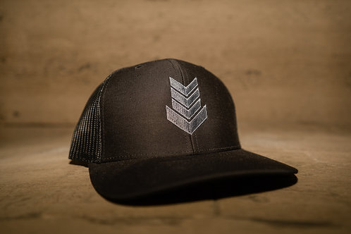 Black Out Embroidered Snapback