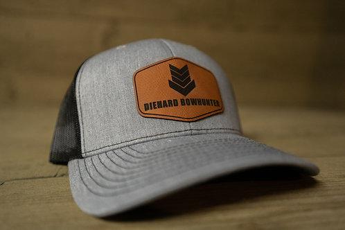 Black & Gray Patch Hat