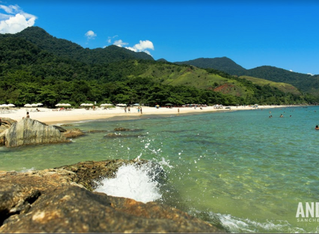 Praia de Santiago - São Sebastião